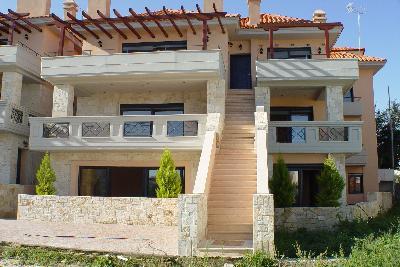 Недвижимость на Халкидики Кассандра. Квартира площадью 60 кв.м.