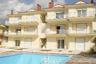 Недвижимость на Халкидики Ситония. Таунхаус площадью 77 кв.м.