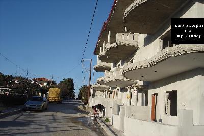 Недвижимость на Халкидики Кассандра. Квартира площадью 77 кв.м.