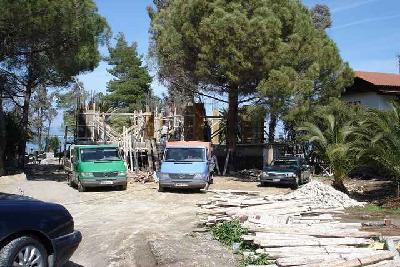 Недвижимость на Халкидики Ситония. Вилла площадью 360 кв.м.