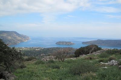 Недвижимость на о.Крит . Участок за городом площадью 2140 кв.м.