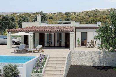 Недвижимость на о.Крит . Вилла площадью 100 кв.м.