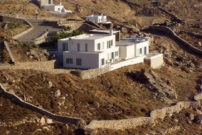 Недвижимость на о.Миконос . Вилла площадью 600 кв.м.